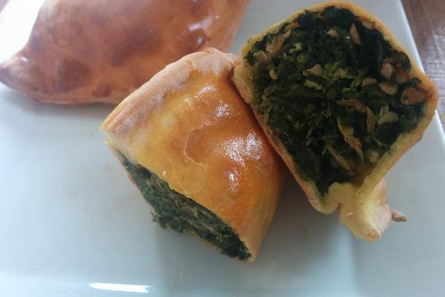 Chausson épinards et saumon - Mes Recettes au Cooking Chef