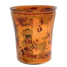 Copper Flared Vase