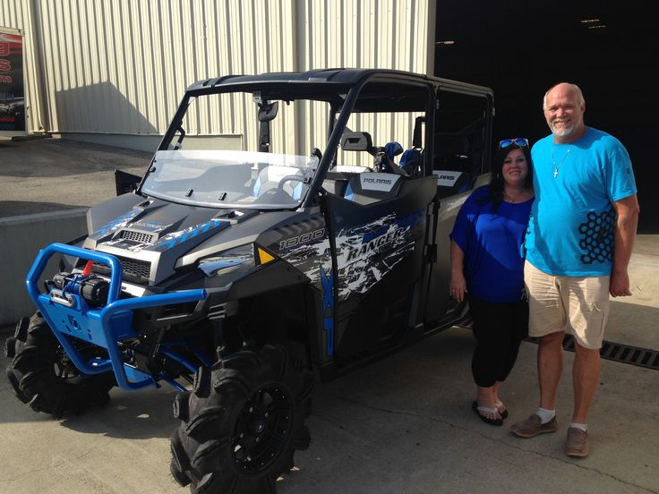 Thank you Robert Langford from Pelahatchie, MS for getting your 2017 Polaris Ranger 1000 Highlifter Crew at Hattiesburg Cycles. #polaris