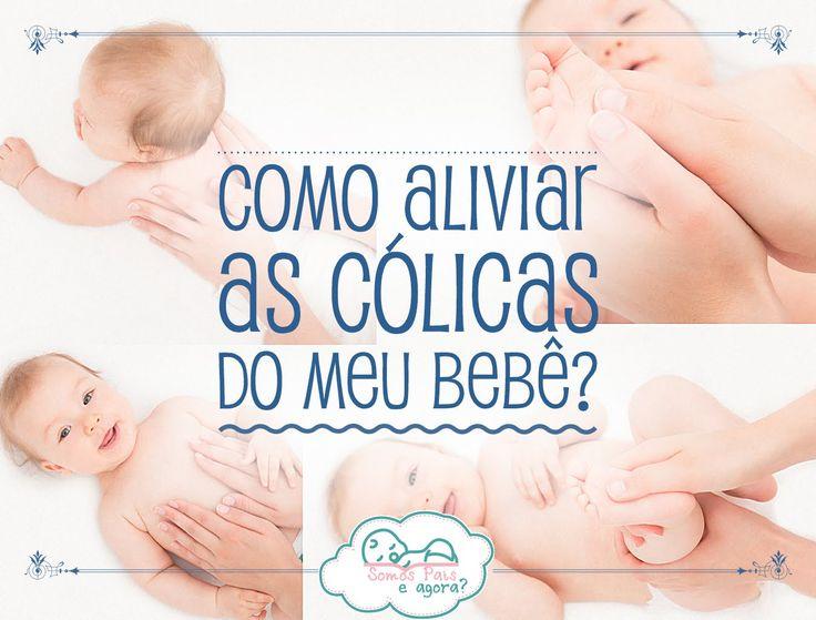 As cólicas são um verdadeiro pesadelos para os pais, quase todos os bebés sofrem deste problemas e as mães sentem-se impotentes para aliviar o sofrimento e