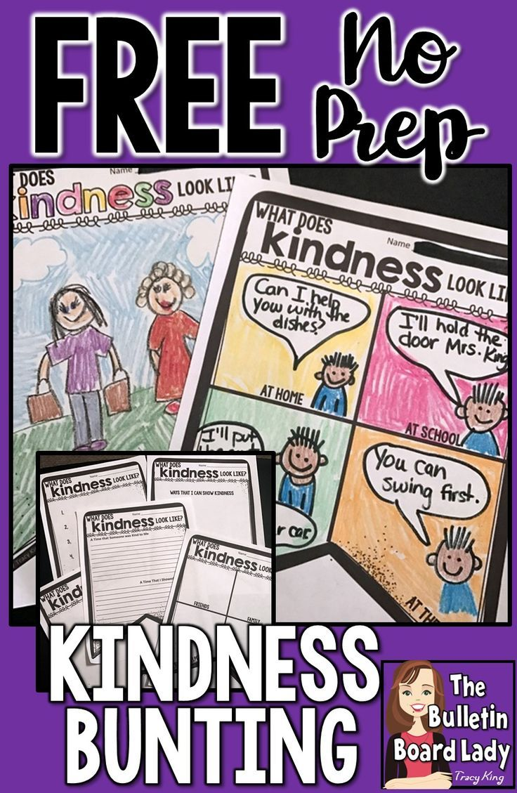 Create A Kindness Bunting In Your Classroom Or Hallway With This Free  Download 7 Different