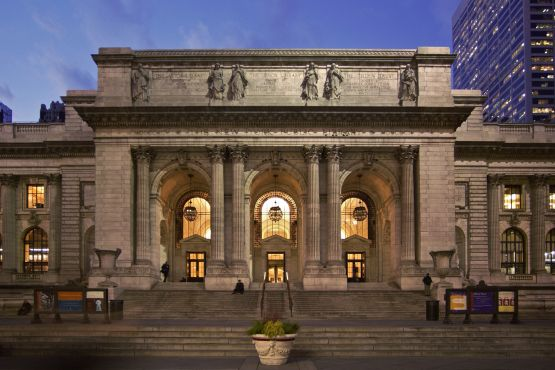 The New York Public Library Stephen A. Schwarzman Building   Fifth Ave