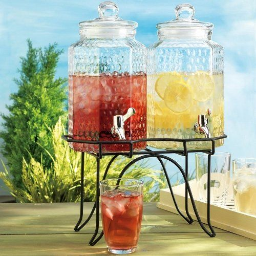 Home Essentials 1842 Del Sol Hammered Jug Beverage Dispenser With Rack, Set Of 2 Home Essentials,http://www.amazon.com/dp/B003LTF7U0/ref=cm_sw_r_pi_dp_rXY3sb17CEWEYBY8