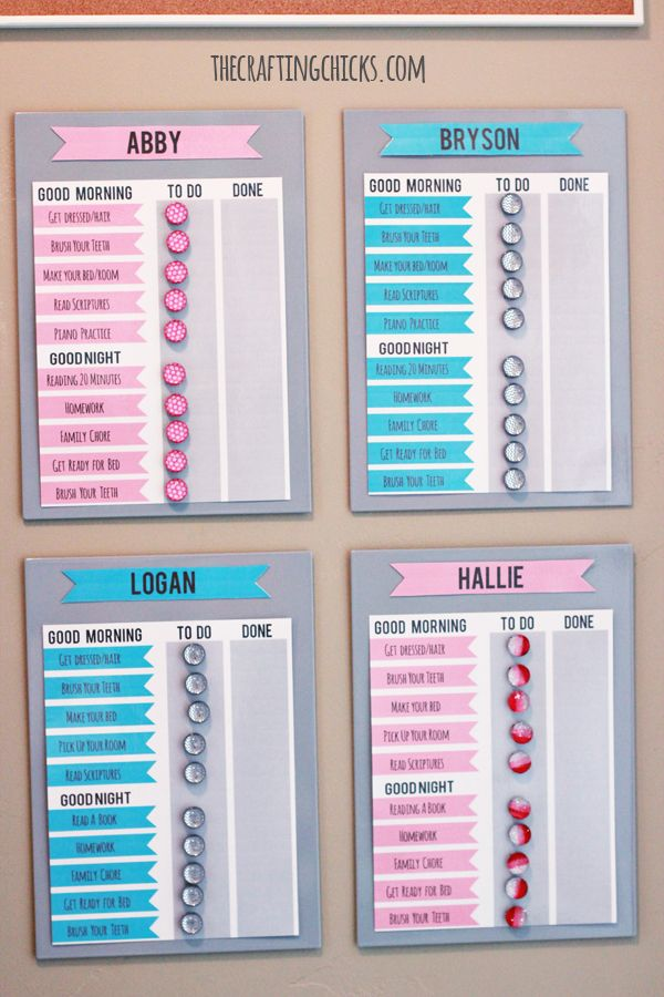Best  Chore Charts Ideas On   Chore Chart For Kids