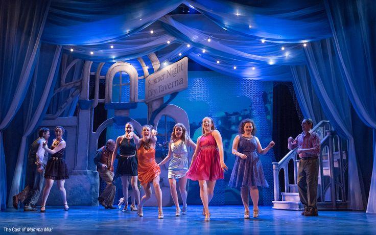 Mamma Mia Broadway Set Design Mamma Mia Shows At