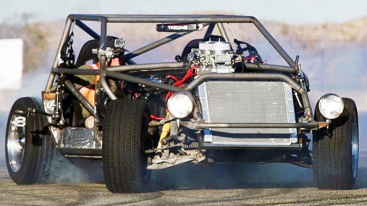 1985 C4 Corvette Kart vs 2014 Lingenfelter C7.    http://motortrend.com/news/c4-corvette-kart-battles-2014-lingenfelter-c7-on-new-roadkill/