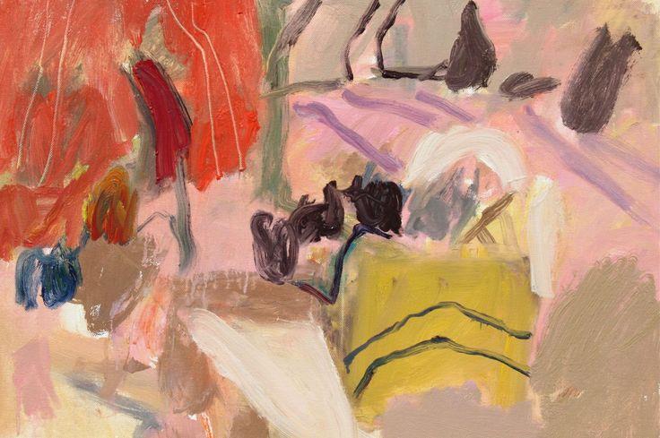 notthewayhome: Elisabeth Cummings, Fowlers Gap, oil on canvas.
