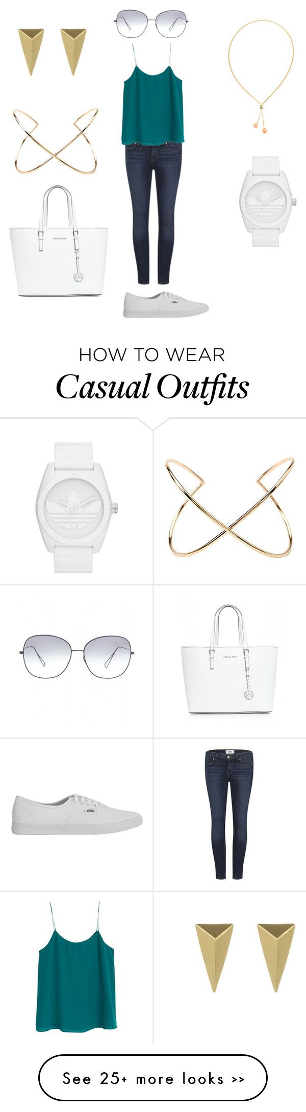 """""""Casual sporty look"""" by lisaboqt on Polyvore"""