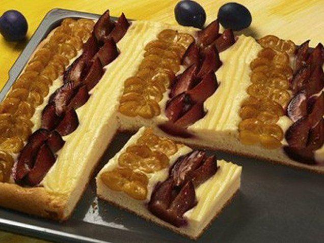 Pflaumen-Mirabellen-Kuchen Rezept | Dr. Oetker