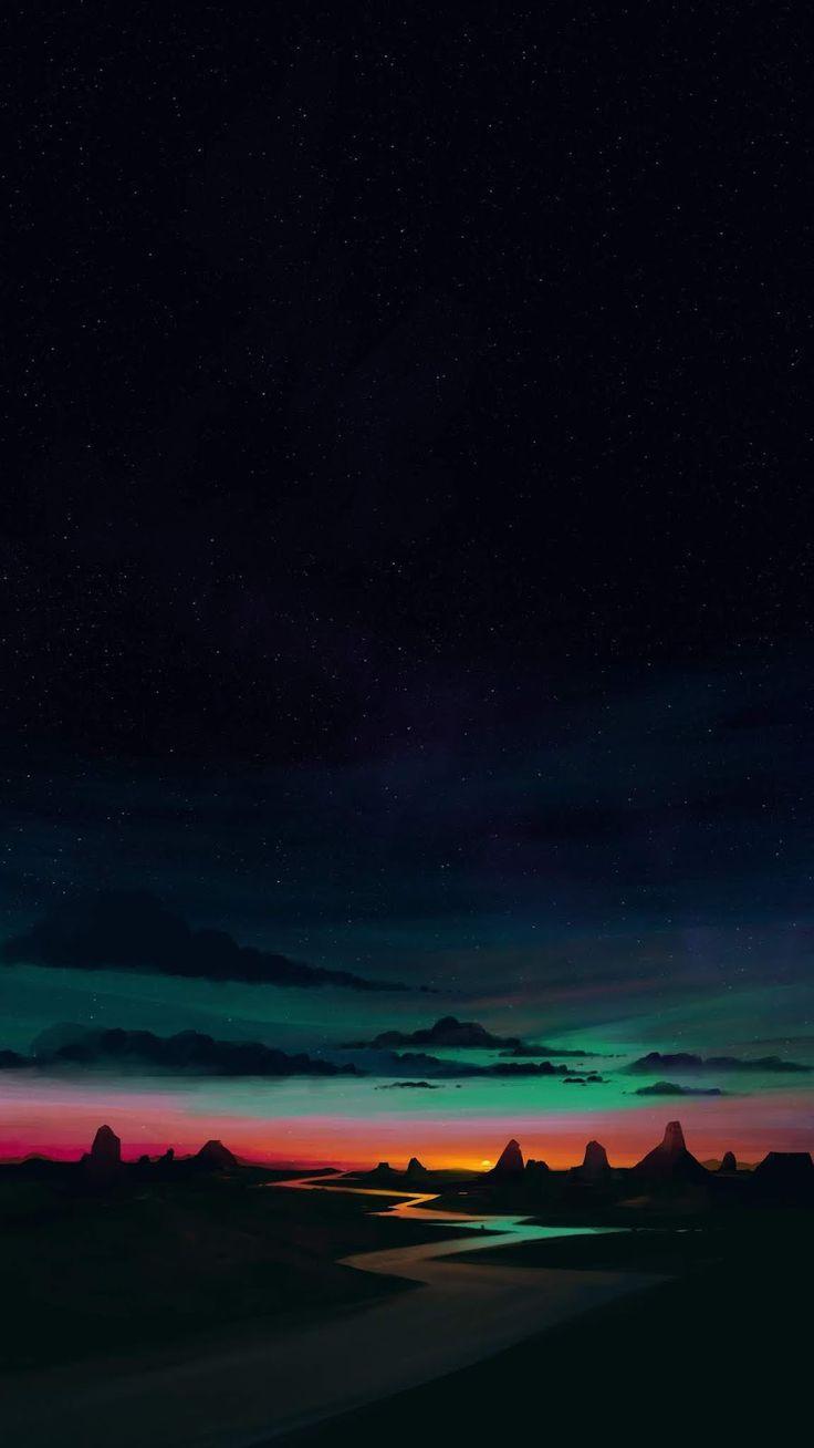 Landscape Night River