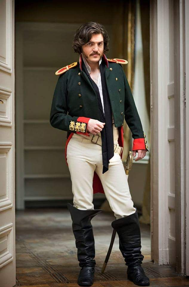 Tom Burke as Dolokhov in War and Peace