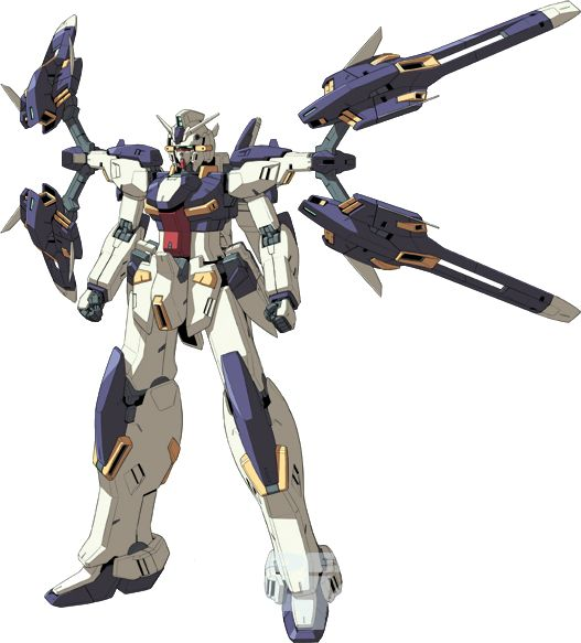 The MSW-004 Gundam [Kestrel] Maneuver Exterior is a variant of the MSW-004 Gundam [Kestrel]. It appears in the Advance of Zeta: The Traitor to Destiny series of light novels. It is piloted by Van Asiliaino.