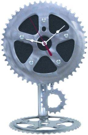 Recycled Bike Chain Clock