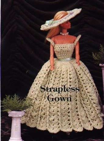 1000+ ideas about Barbie Crochet Gown on Pinterest | Pram ...