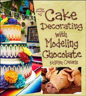 Wicked Goodies | Chocolate Cake Writing Tutorial | http://www.wickedgoodies.net