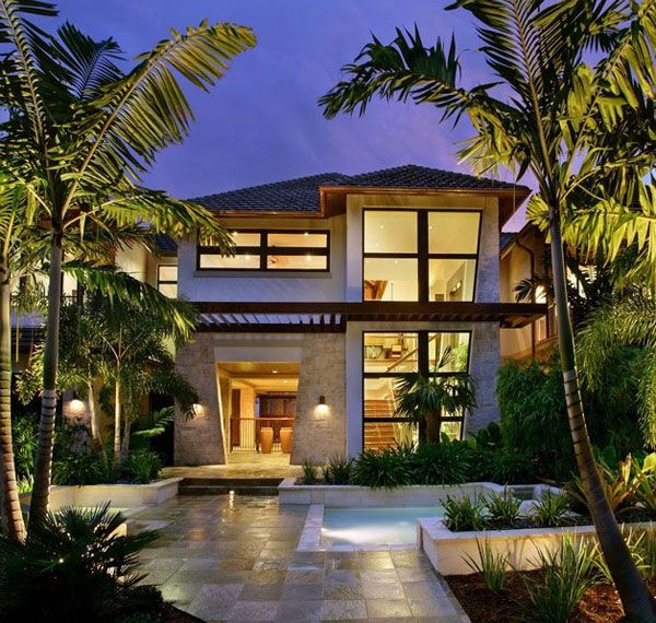 tropical balinese modern house see more 30 landscape design ideas shaping up your summer dream home - Modern Tropical House Design