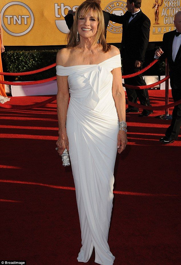 Linda Gray #RedCarpet #SagAwards