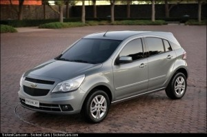 2010 Chevrolet Agile Revealed - http://sickestcars.com/2013/05/19/2010-chevrolet-agile-revealed/