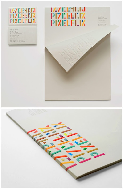stationery / Emboss color