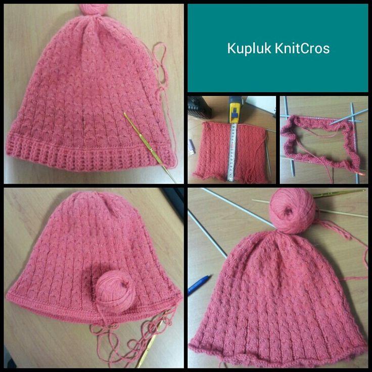 Perpaduan 2 wanita cantik..si Knit & si Crochet dalam satu project.. :-) @RajutJalan #Rajuterboys
