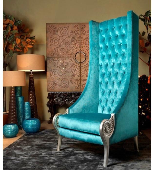 Love the chair tiffany blue pinterest sillones - Sillones de decoracion ...