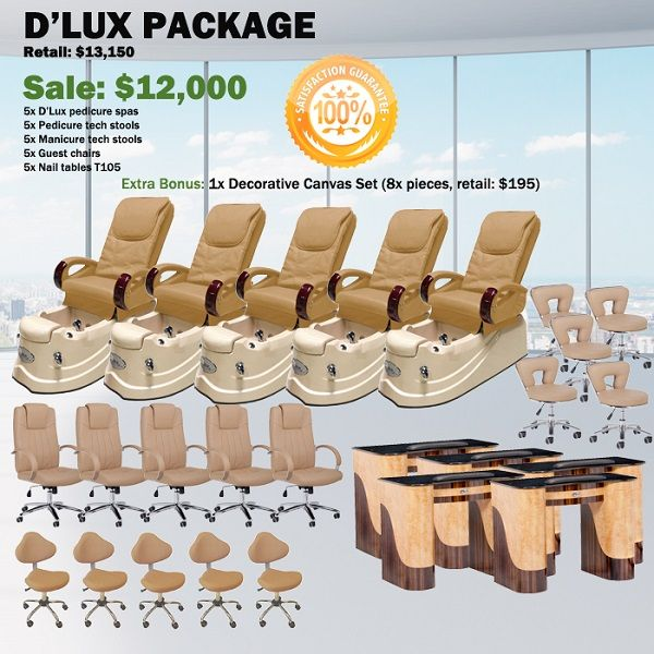 D'Lux Spa Pedicure Chair Package – Free shipping - $11500 ,  https://www.ebuynails.com/shop/dlux-spa-pedicure-chair-package-free-shipping/  #furniture #spasalon #spafurniture #nailtable #salonfurniture #nailsalon