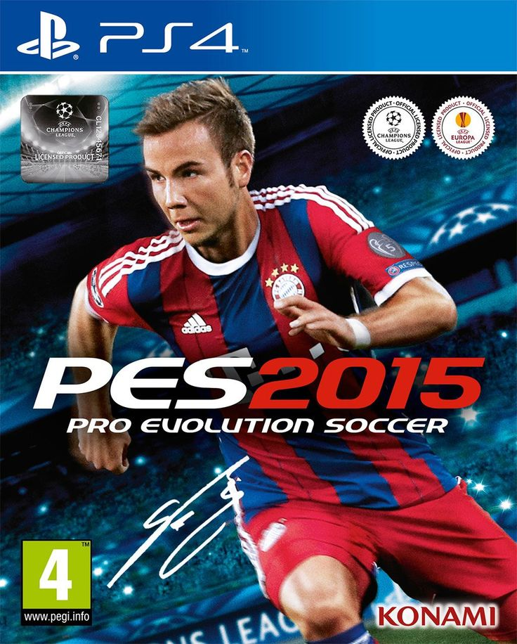 pes 2015 cover (PS4)