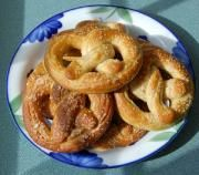 Toasted Coconut Pretzels