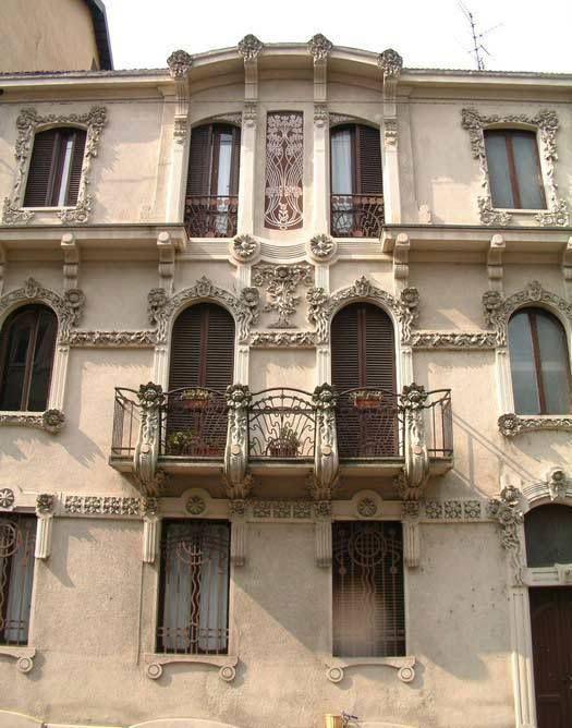 GiovanniGribodo-Palazzina Conte-via Piffetti 12,Torino.