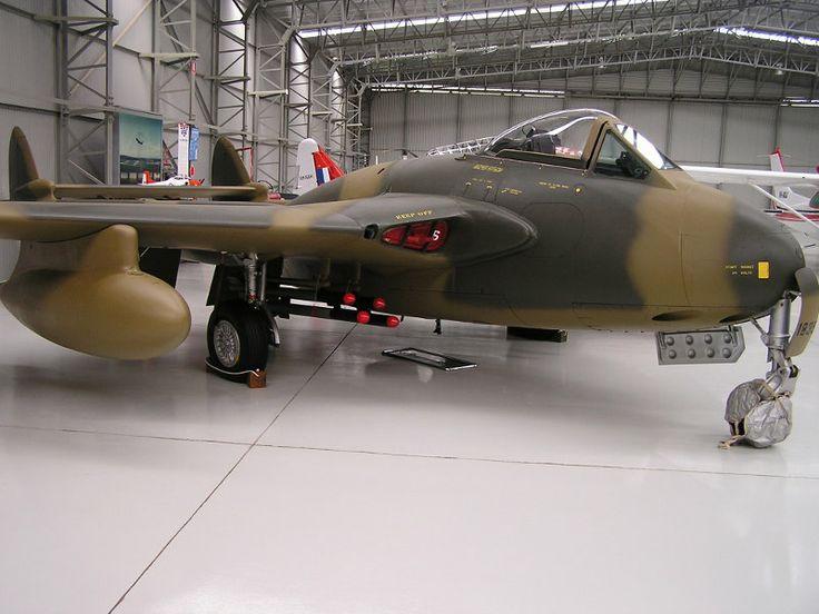 Rhodesian Air Force Vampire