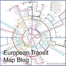 European Transit Map Blog - This blog shows a number of transit maps in use across Europe. Some are simple systems, some more complicated. They are in no particular order, just nice designs that we at IAQ Graphic Design like. In the meantime, enjoy your trip….