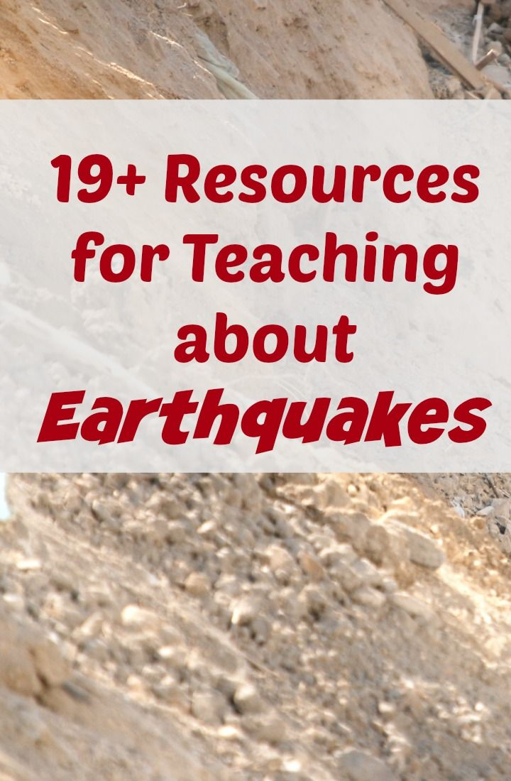 19 classroom and homeschool resources earthquakes. Black Bedroom Furniture Sets. Home Design Ideas