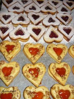 Limara péksége: Linzer szívek