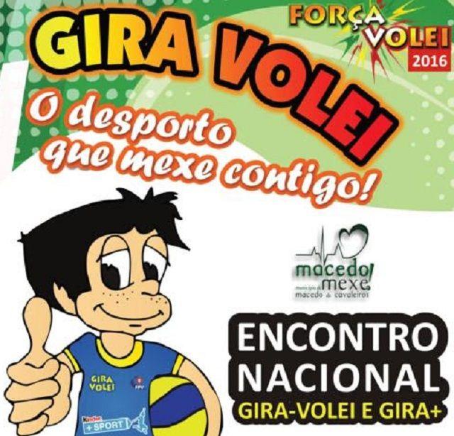 Gira-Volei 2016: Azibo acolhe Encontro Nacional