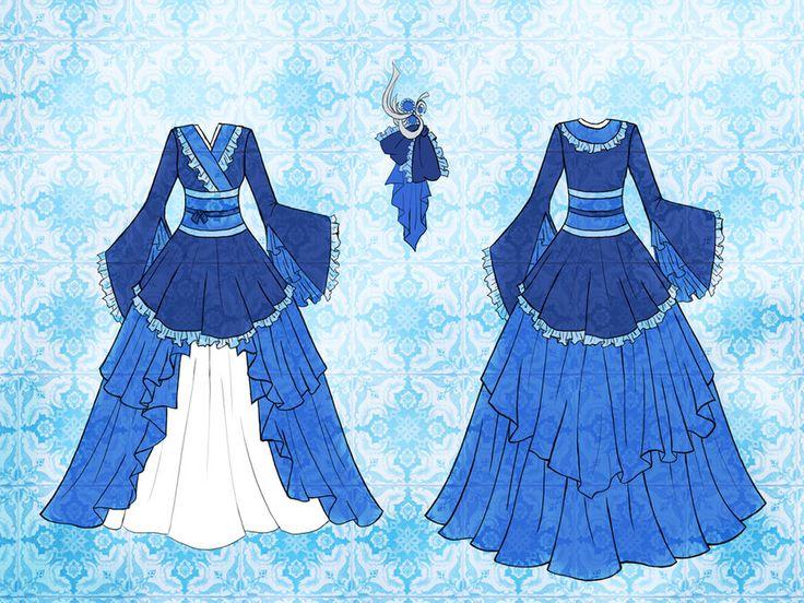 outfit designs anime | Anime Dress Designs Jun dress design by eranthe