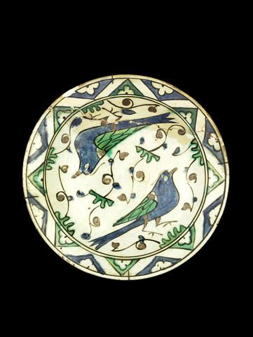 An Iznik pottery Dish Turkey, first half of 17th Century