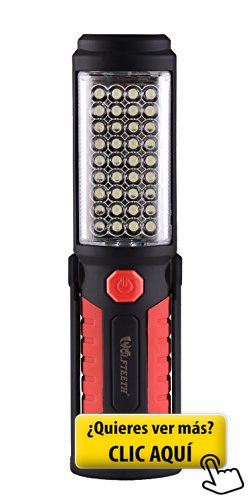 WOLFTEETH 36+5 LED luz que acampa, manos-libres... #linterna