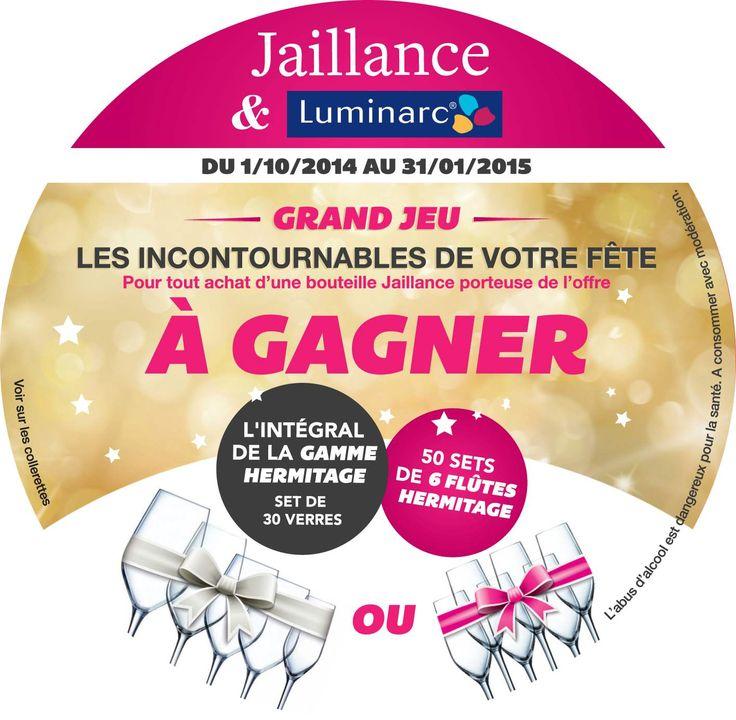 Partenariat Jaillance Luminarc pour la fin d'année 2014