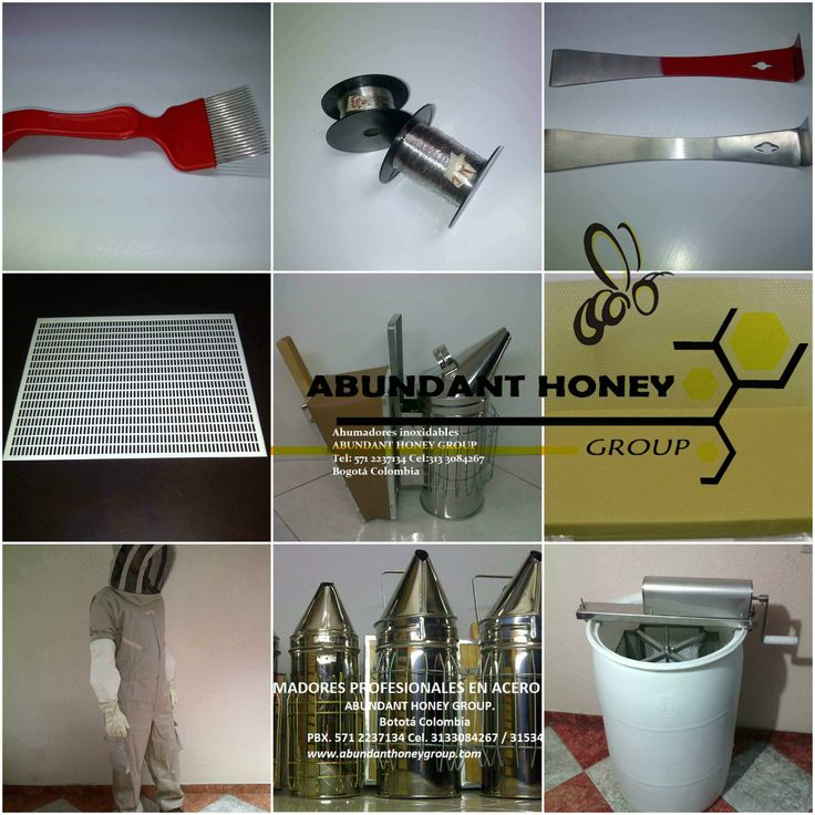 Implementos para apicultura en Colombia ABUNDANT HONEY GROUP 3153409665