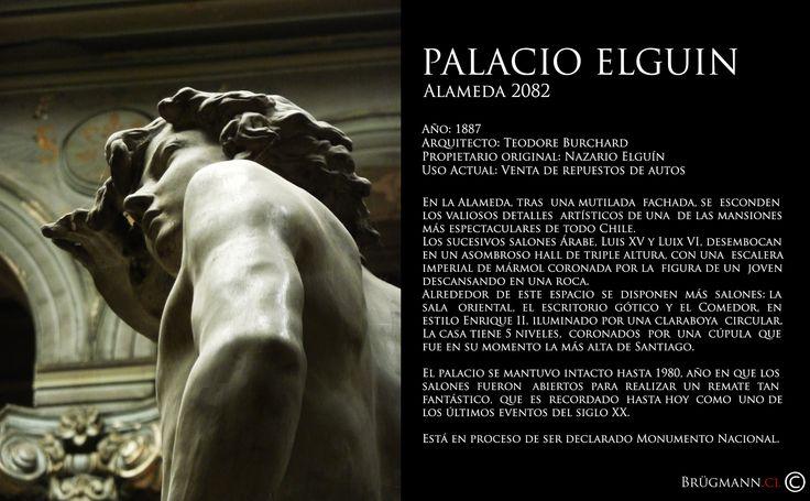 Palacio Elguín  Alameda 2082, Santiago de Chile