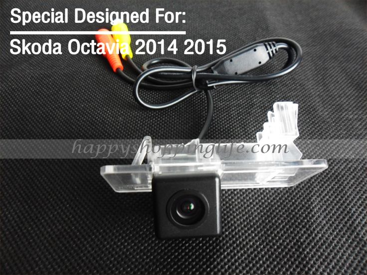 Car Rear View Camera for Skoda Octavia 2014 2015 Waterproof Back Up Reverse Camera with Night Vision