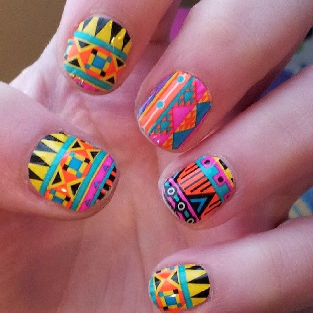 African Nail Art: 15 Best African Nail Art Design Gallery By Nded Images On