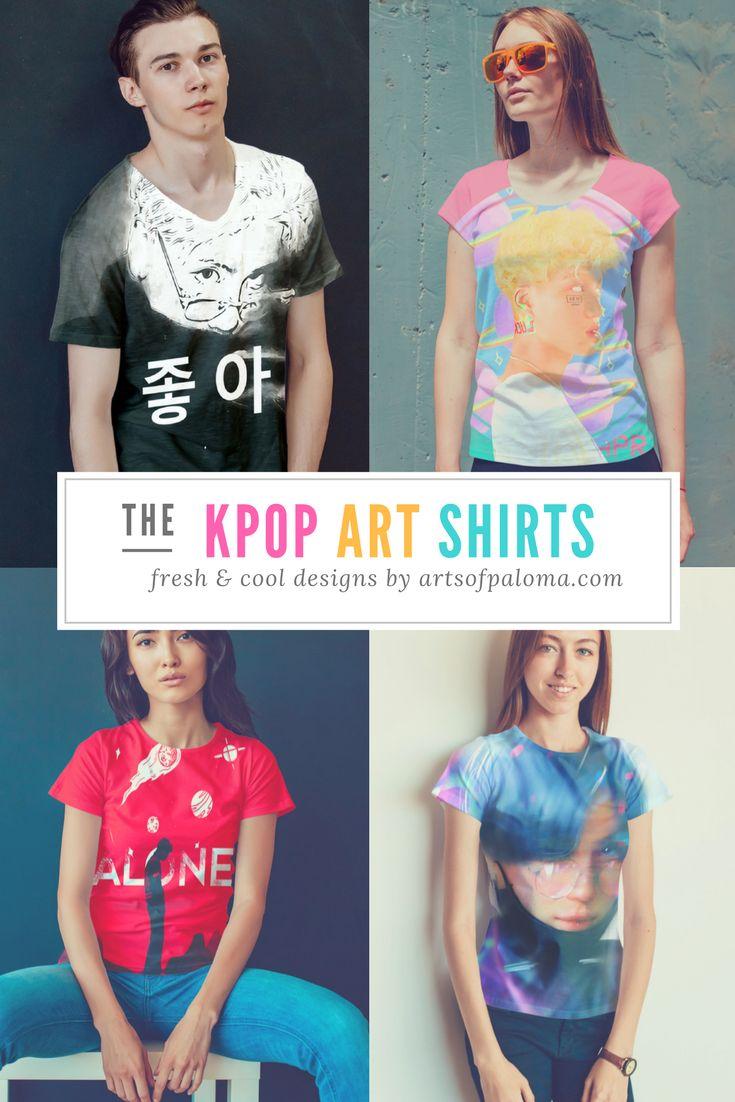 Arts of Paloma for #KPopart #KPopMerchandising #KPopShirts #KPopfashion #KPopfanarts and #KPopIllustrations #Digitalarts #DigitalIllustrations for your Original characters or for #fanart