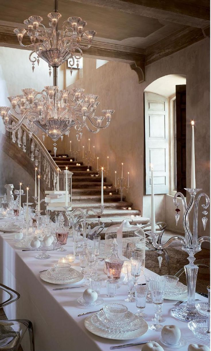 Palace of Dreams - Baccarat Crystal Chandelier.