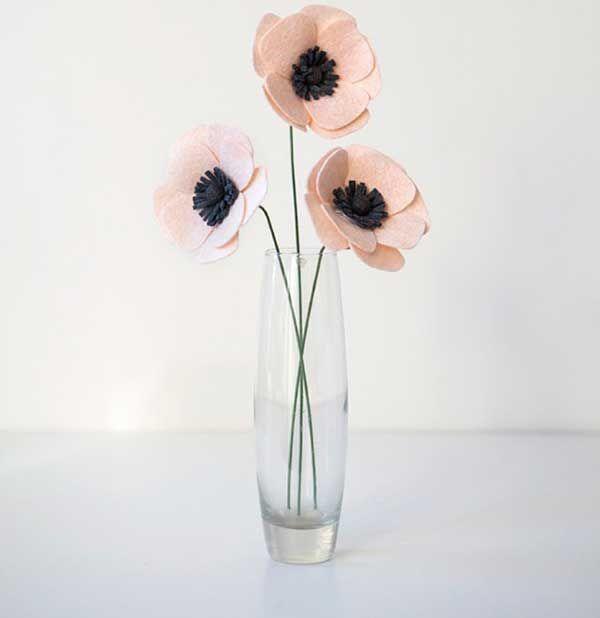 Keçeden Anemon Çiçeği Nasıl Yapılır - https://m-visible.com/keceden-anemon-cicegi-nasil-yapilir.html