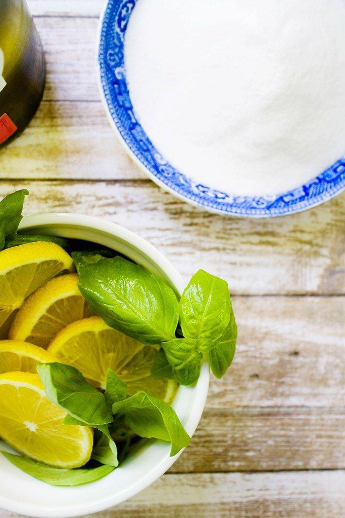 Lemon Basil Sangria - Our Joyful Home | Recipes | Pinterest | Home ...