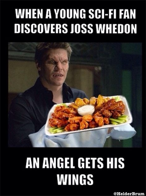 When a young sci-fi fan discovers Joss Whedon, an angel gets his wings. I laughed.