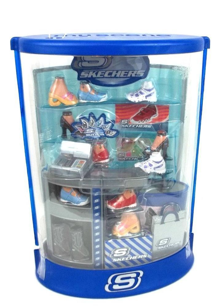 Barbie My Scene Mall Maniacs Skechers Shoes Store New NWT Shopping Play Set #ClothingShoes