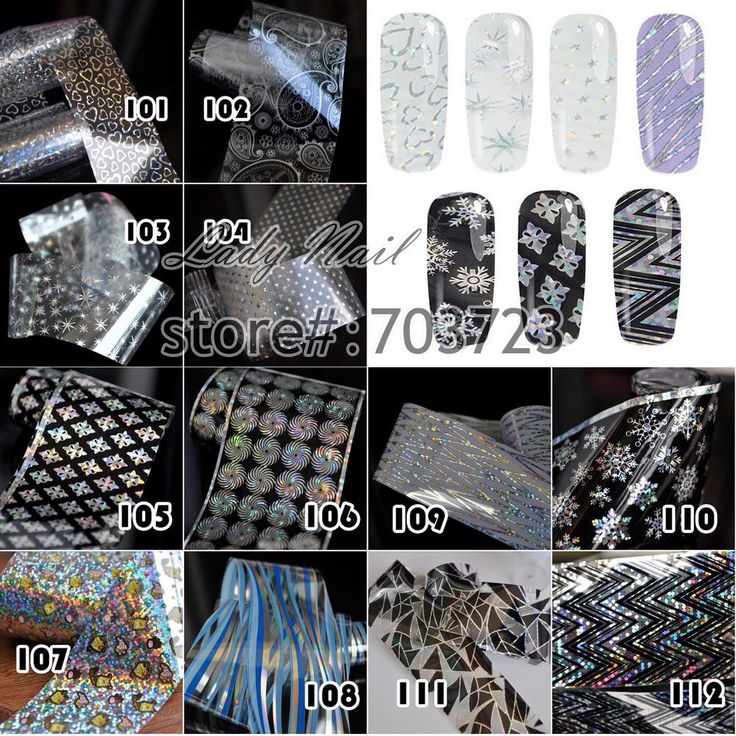 1 roll fles 4 cm * 100 cm Transfer Folie Nail Art Stickers Decals Nail Gereedschap Decoraties Laser Lijn Vuurwerk sneeuwvlok Ster Hart