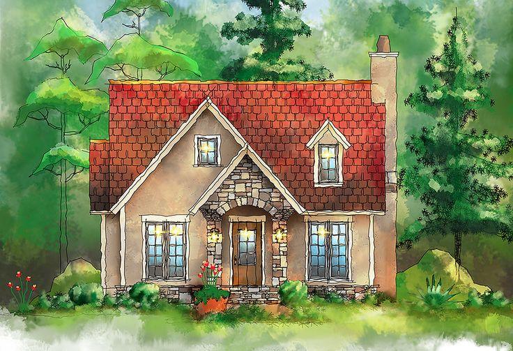 Plan 26685gg European Itty Bitty Cottage House Plans